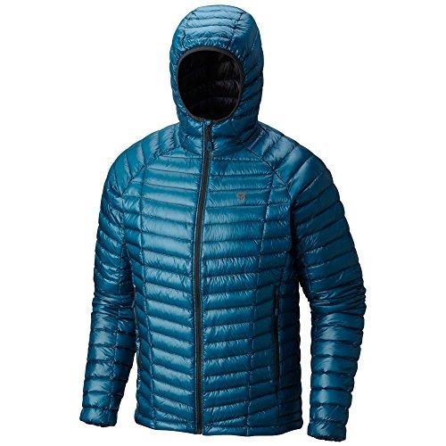 Ripstop Hooded Down Jacket (Mountain Hardwear Men's Ghost Whisperer Hooded Down Jacket)