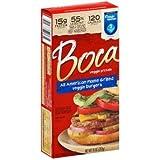 Boca All American Flame Grilled Veggie Burger, 10 Ounce -- 12 per case.