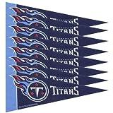 Tennessee Titans NFL Mini Pennant Set (8)