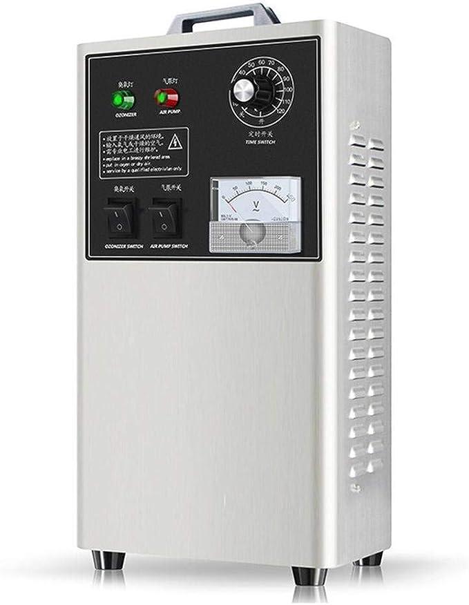 SINKITA Generador De Ozono Comercial 3,000mg Industrial O3 Purificador De Aire Desodorizador Esterilizador-23 * 18 * 45cm: Amazon.es: Hogar