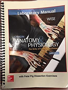 anatomy and physiology saladin 8th edition lab manual