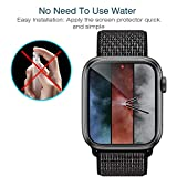 LK [6 Pack] Screen Protector for Apple Watch 44mm