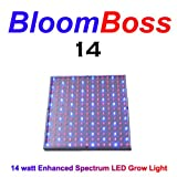 BloomBoss 14 LED Grow Light 14 watt Grow Panel