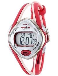 Timex Women's Ironman T5K787 Red/White Plastic Quartz Watch
