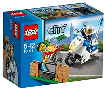 Construction Poursuite 60041 Lego Du Jeu City La Bandit De roCdBex