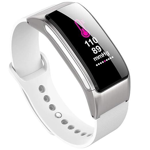 POJIETT Reloj Inteligente Hombre Mujer Niño Niña iOS Android Relojes Deportivos Fitness Tracker with Heart Rate Monitor Pulsera Actividad Presión Arterial, ...
