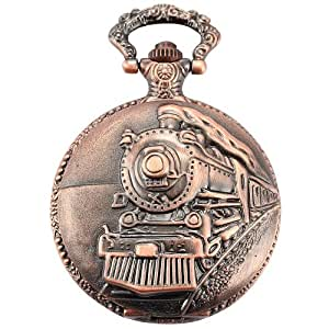 Amazon.com: AMPM24 Red Copper Mens Steam Train Copper ...