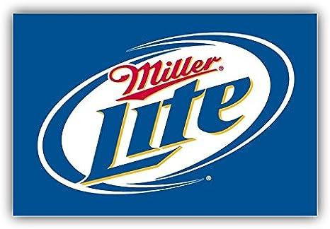 5 in Miller Lite Beer Drink Vinyl Decal Miller Lite Logo Sticker