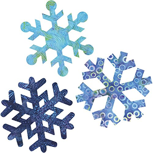 AccuQuilt GO! Fabric Cutting Dies, Snowflakes 7-Inch by AccuQuilt