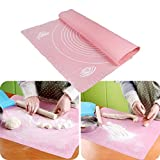 Product review for Silicone Rolling Fondant Mat , SmartK Non-Stick Silicone Baking Cake Dough Fondant Rolling Kneading Mat Scale Table Grill Pad