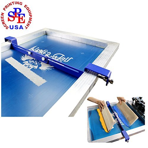 (Silk Screen Printing Used Stencial Plate Isolator Simple Tool for Two Colors in One Times Hopper Alloy)