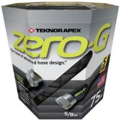 Teknor 4001-75 Zero G Advanced Kink Free Hose, White