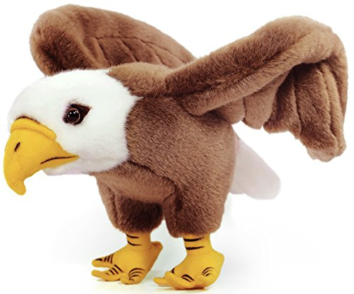 barnett-the-bald-eagle-10-inch-realistic-looking-stuffed-animal-plush-by-viahart