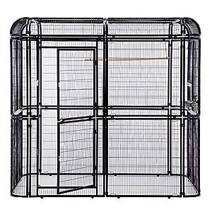 1. PANEY Iron Bird Cage Aviary