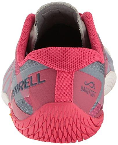 Merrell Womens Vapor Glove 3 Trail Runner Azalea