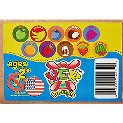 Gluten Free Modeling Play Dough, 10 Pack: Toys & Games