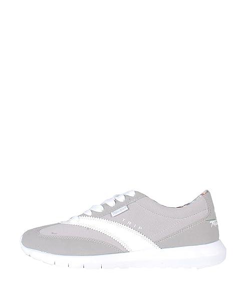 Tepa Sport Deportivas Grey White - Zapatillas de Deporte Grises Blancas: Amazon.es: Zapatos y complementos