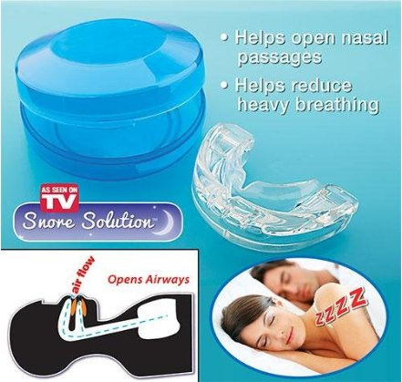 As Seen on TV Snore Solution