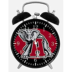 New Alabama Crimson Tide Alarm Desk Clock 3.75 Room Decor X53 Will Be a Nice Gift