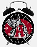 New Alabama Crimson Tide Alarm Desk Clock 3.75'' Room Decor X53 Will Be a Nice Gift