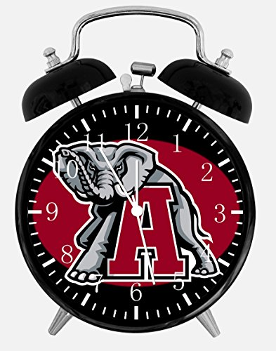 New Alabama Crimson Tide Alarm Desk Clock 3.75