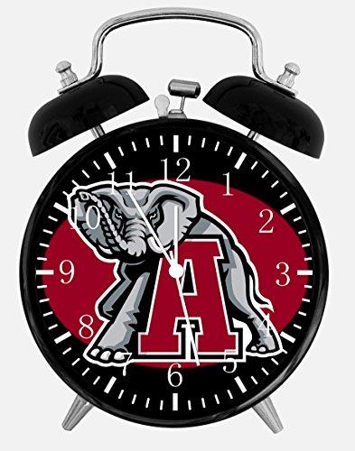 (New Alabama Crimson Tide Alarm Desk Clock 3.75