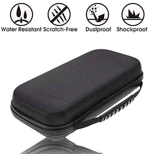 ZGWJ Carrying Case for Nintendo Switch - Travel Carry Case Accessories, 20 Game Card Holders,Shockproof Travel Case Bag