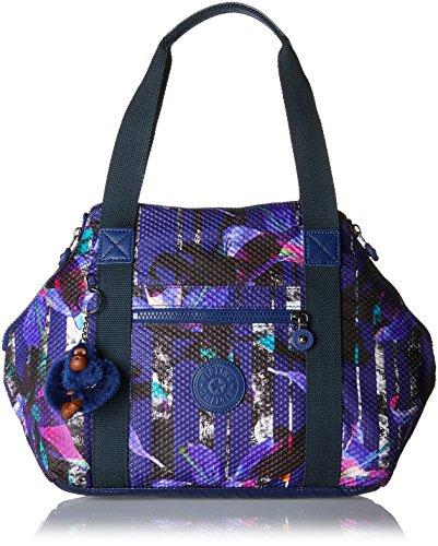 S a Art Kipling Borse Donna Urban Multicolore Flower Bl secchiello wBqttd5