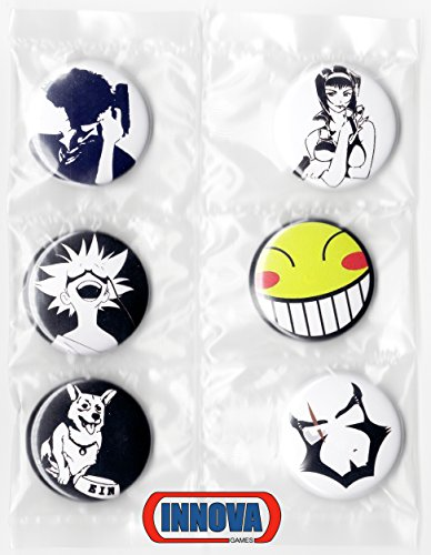 (Cowboy Bebop Button Set (6 Pack) 1