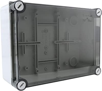 Caja de derivación, 195 x 145 x 75, IP66, caja de derivación, caja de conexión, carcasa industrial, 009.A.PK M-L 1049: Amazon.es: Bricolaje y herramientas