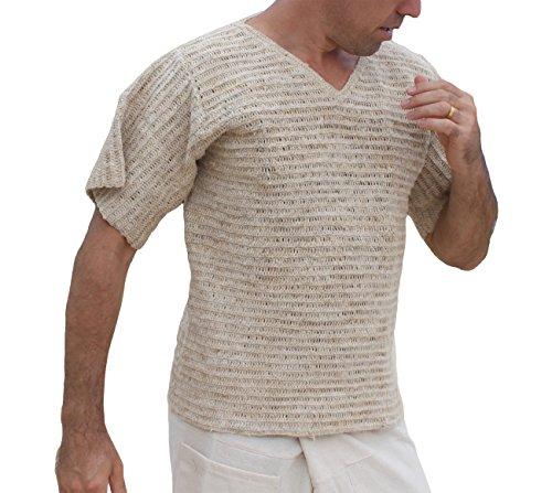 RaanPahMuang-Brand-Hand-Crotchet-Raw-Hemp-Thread-Short-Sleeve-Shirt