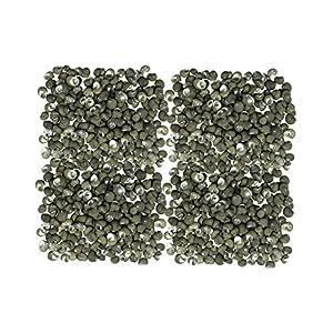 Quality Selected Seashells - Approx 950 pcs shells - Costate Nerite (Black)/ Nerita Costata - for Seashell Vases, Seashell Boxes, Seashell Frames, Seashell Jewelry Making & Mini Garden Miniature