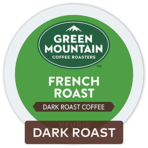 Green Mountain Coffee Single Serve K-Cup Pod, French Roast, 72 Count