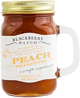 product image for Blackberry Patch Handled Mug All Natural Fruit Preserves (Peach, 18 Ounce)