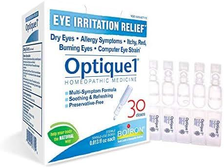 Boiron Boiron Optique 1 Eye Irritation Relief Eye Drops, 30 Doses, 30count