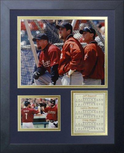 "Legends Never Die ""Houston Astros Killer B's"" Framed Photo Collage, 11 x 14-Inch"