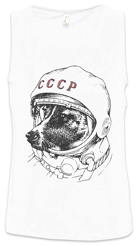Urban Backwoods Space Dog Laika Men Uomo Canotta Tank Top Vest Taglie S – 5XL
