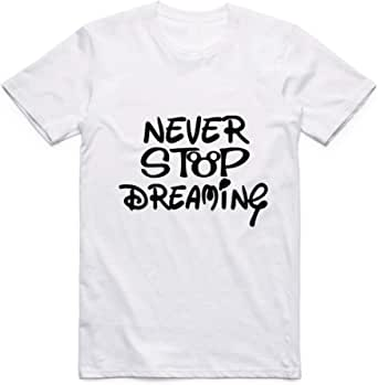 Never Stop Dreaming T-Shirt For Men - size L