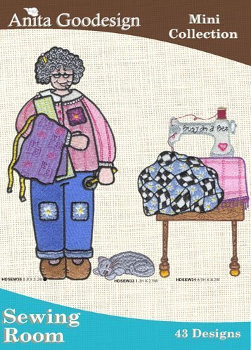 Anita Goodesign Embroidery Designs Cd Sewing Room