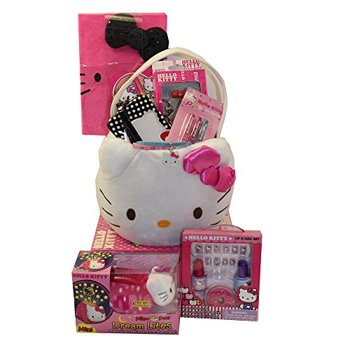 Hello Kitty Supreme Gift Basket - Perfect for Easter, Christmas, Birthdays, Get Well, or Other Occasion!