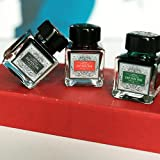 Calligraphy-Pen-Set-GC-QUill-Glass-Dip-Pen-3-Bottle-Inks-Glass-holder-Inkwell-100-Quality-Guarantee
