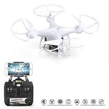 RCDNE Drone con cámara WiFi FPV 5MP 110 ° Gran Angular Control de ...