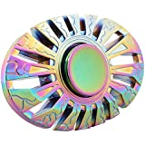FORTUNE WHEEL 2017 Upgraded Fidget Spinner, Butterfly Fish Shaped Rainbow Hand Spinner, Stress Reducer Focus Fidget Toy Perfect for Killing Time