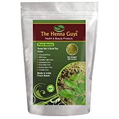 100% Pure & Natural Henna Powder for Hai...
