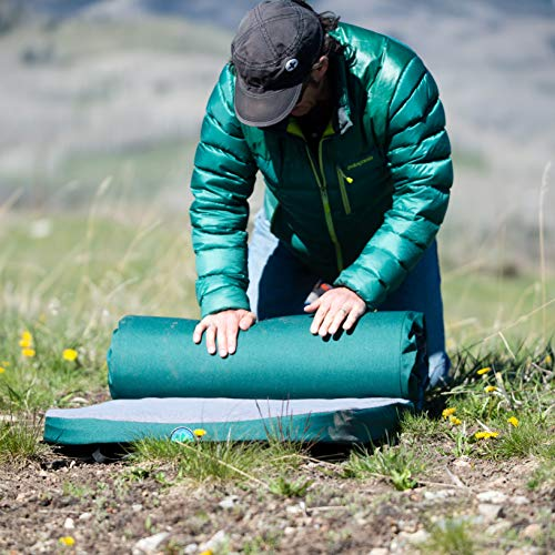 "LaidBackPad Memory Foam 24"" x 72"" x 2 3/8"" Camping Mattress for Great Sleep While Camping or at Home with Built-in Connector and Weighs 8.5 lbs."