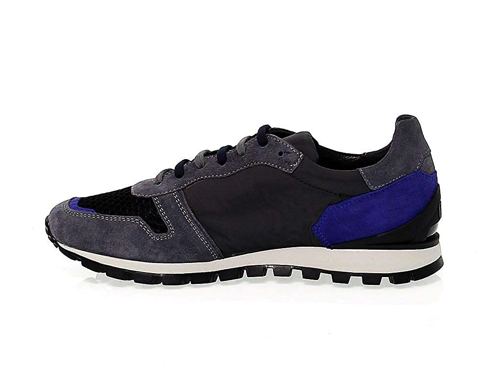 Bikkembergs scarpe da ginnastica Uomo Uomo Uomo BKE108477 Tessuto Grigio f8b3d5