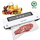 Vacuum Sealer, Automatic Food Sealer Machine Vacuum Air Sealing System for Food Savers, Household Food Preservation Machine, Include Sealing Bags