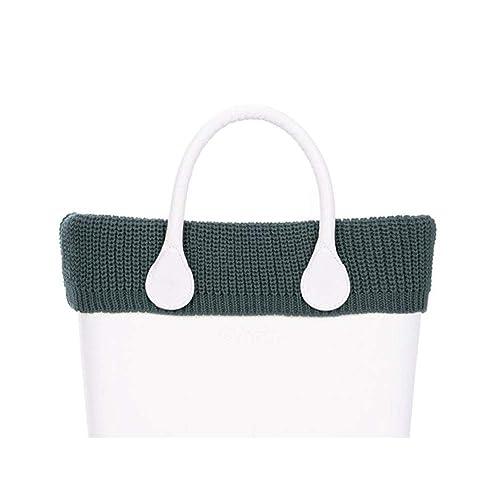 obag Borde para bolso mini de lana punto ingles color verde bosque: Amazon.es: Zapatos y complementos