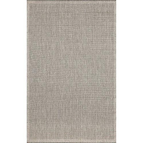 Liora Manne Terrace Texture Rug, Indoor/Outdoor, 7-Feet 10-Inch by 9-Feet 10-Inch, Silver/Ivory (Ocean Terrace Trans)