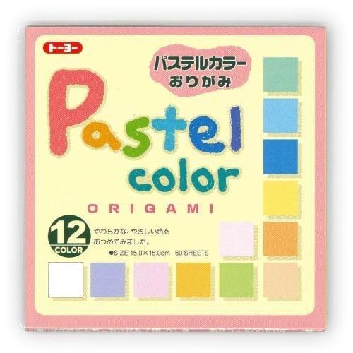 JapanBargain Origami Paper Pack, Pastel ()
